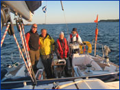 Crystal Yacht Charter skippered sailing